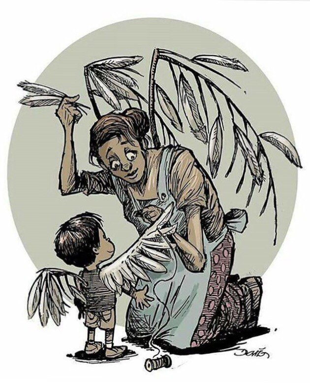 Картинки мать и дитя со смыслом