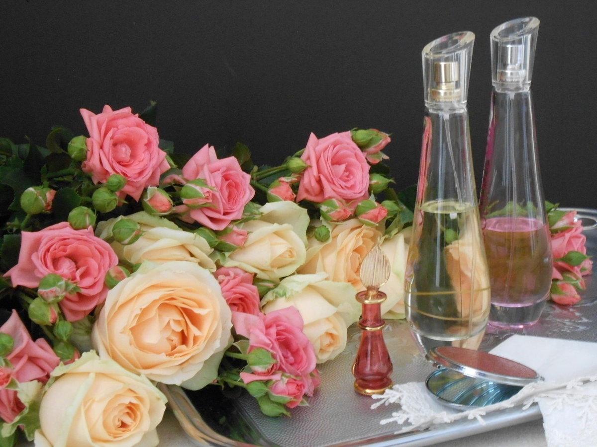 розы и шампанское фото