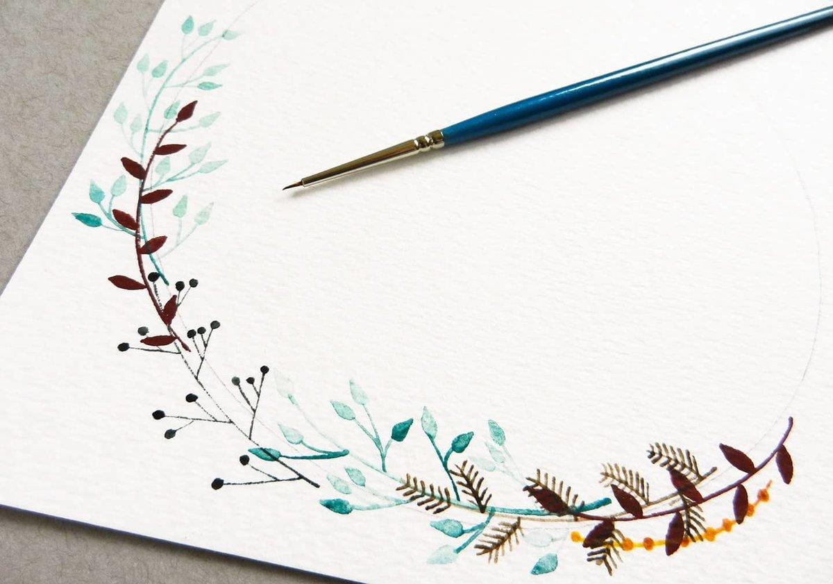 Уроки рисования открыток, днем рождения