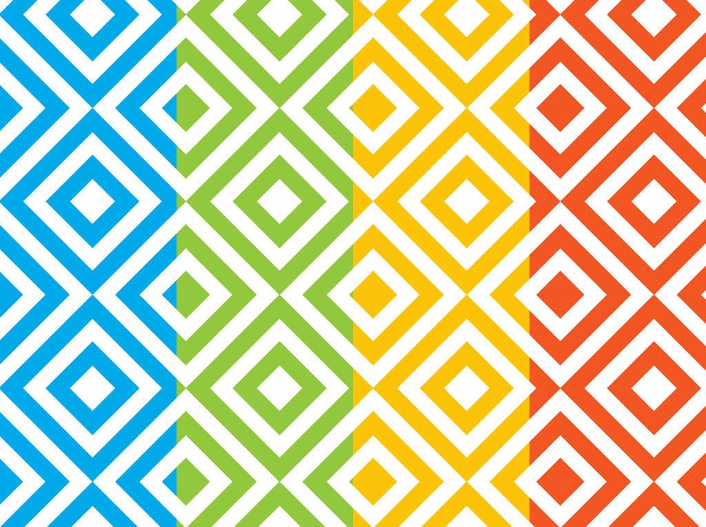 комплект цветные геометрические узоры картинки объявления работе