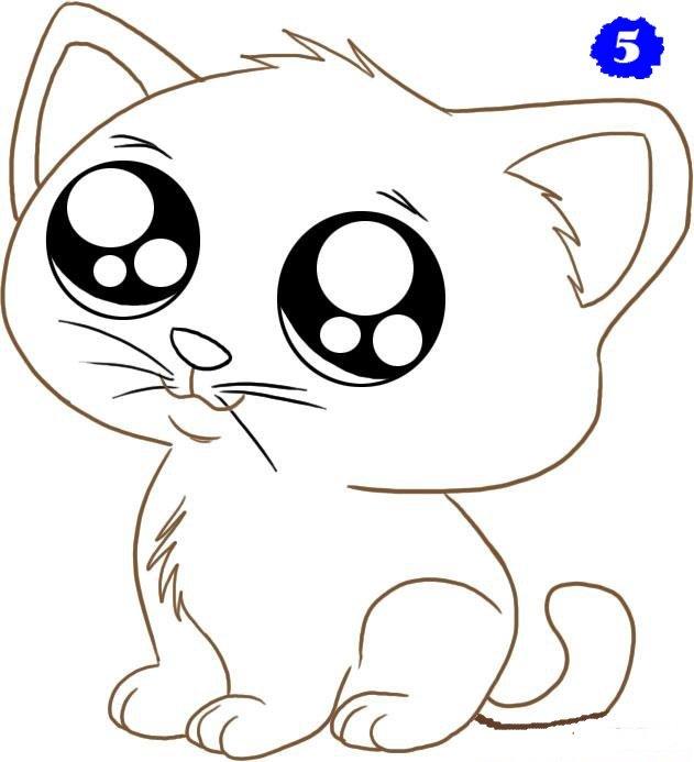 картинки милых котят с милыми глазками поэтапно публикуется