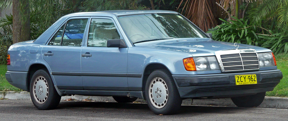 Mercedes Benz W124 Wikipedia Card From User Evg Fishhenko In