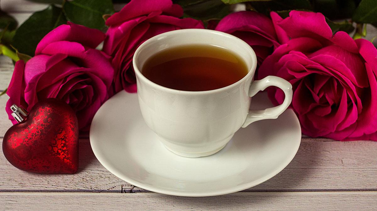 Открытки чай чашка