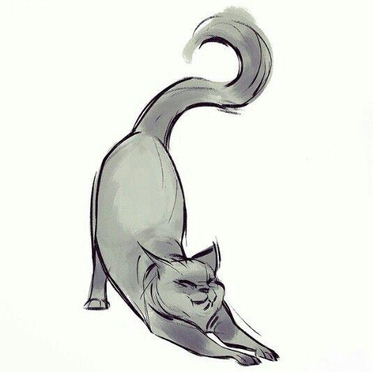 Best 25 Cat Drawing Ideas On Pinterest Kitten Dra Card From