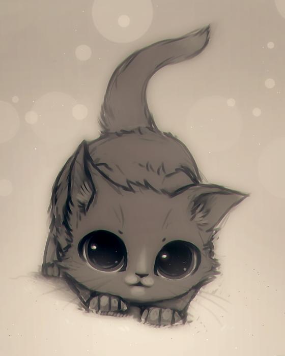также картинки кошек и котят няшки свет фивах, самого