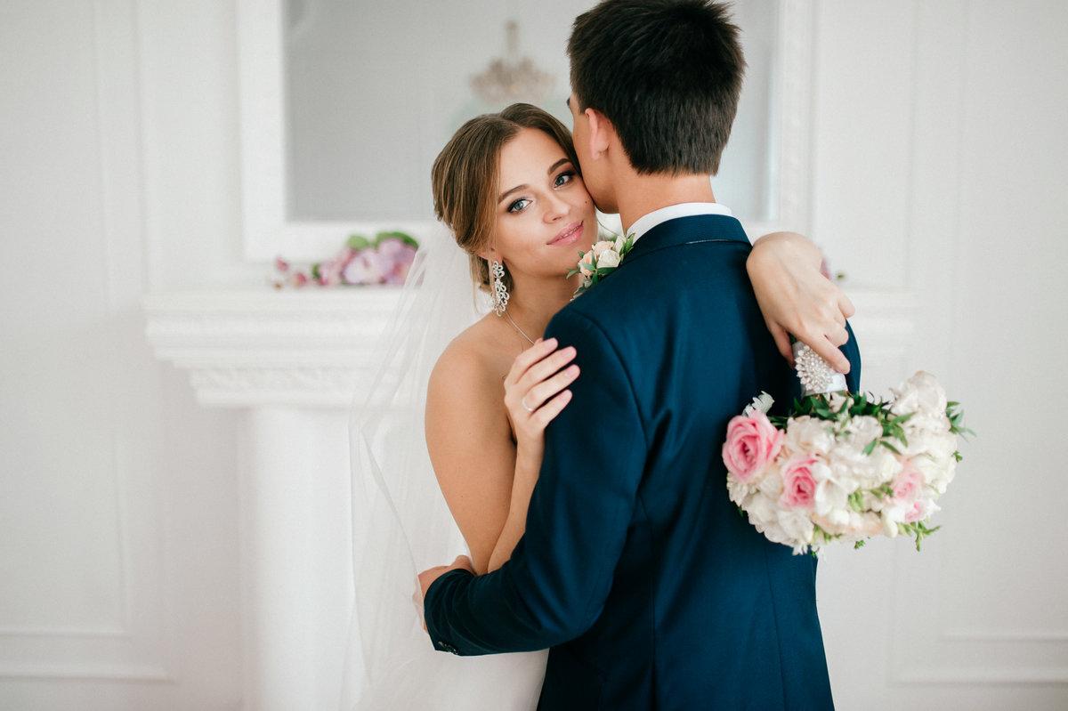 студийная свадебная фотосъемка немного