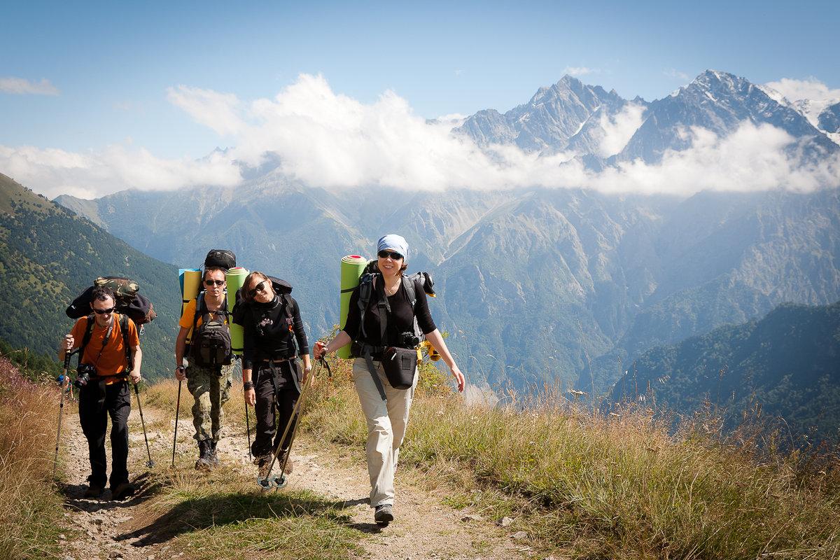 Картинки поездки в горы, открытку