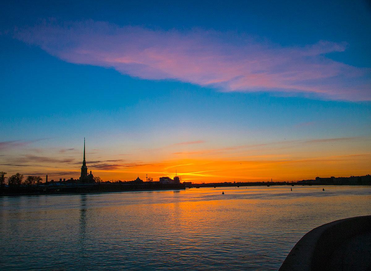 лук фото закат солнца в питере стиле