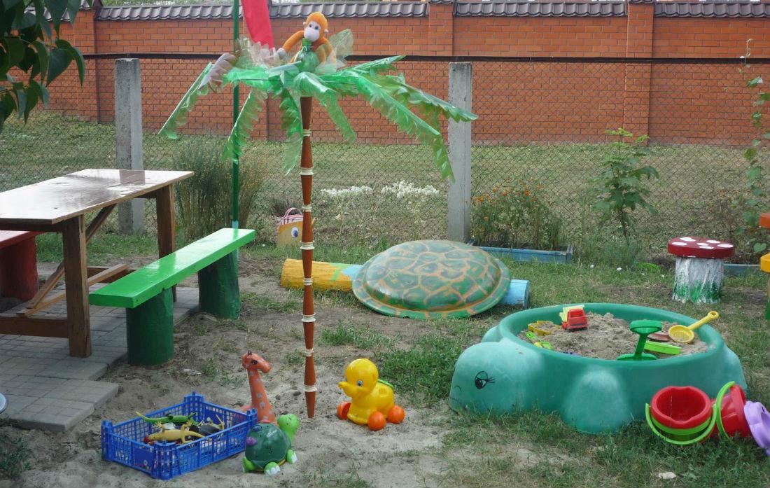 Картинки детская площадка в доу