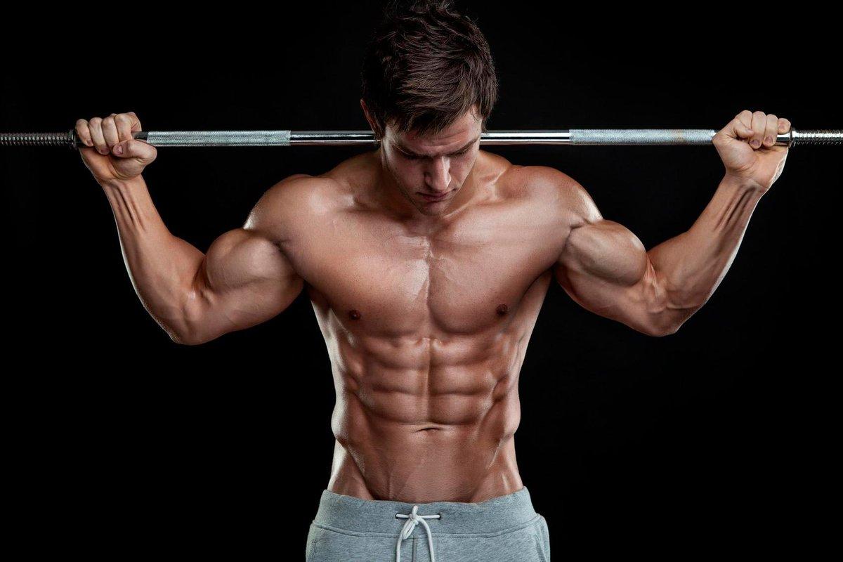 мускулистое мужское тело - 5