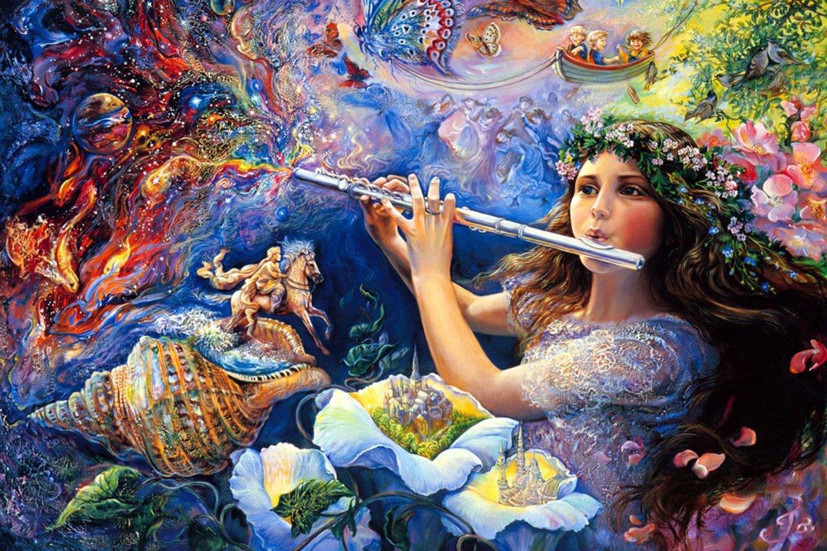 Открытки художников мира искусств