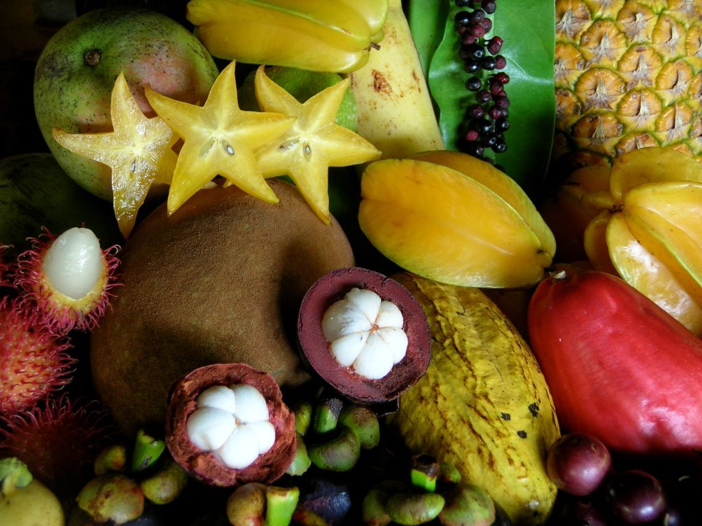 тропические фрукты названия картинки компания предлагает продаже