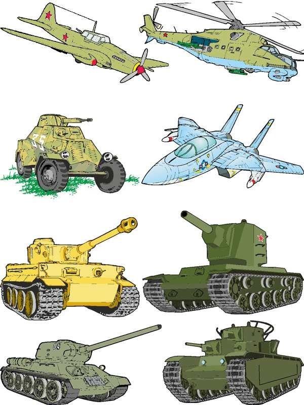 Военная техника с солдатами картинки для детей, открытка
