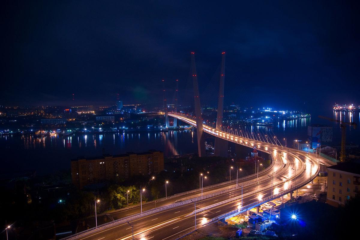 процесс картинка мост ночью владивосток винограда