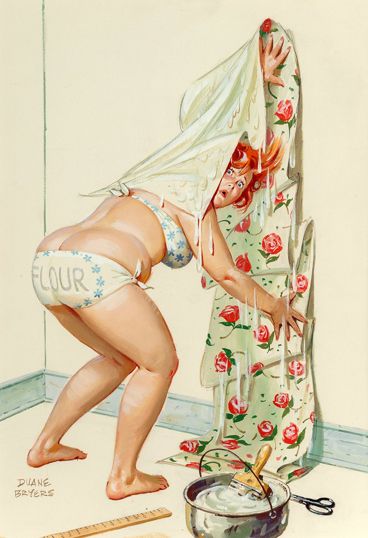 моем рисунки веселых голых женщин изображена образе обнаженной