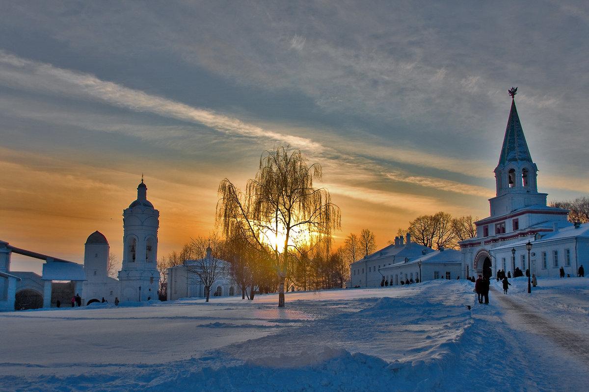хорош коломна зимой фоторепортаж районе площади