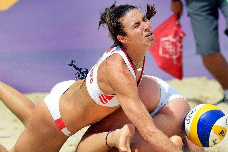 пикантные моменты волейболисток зрелая