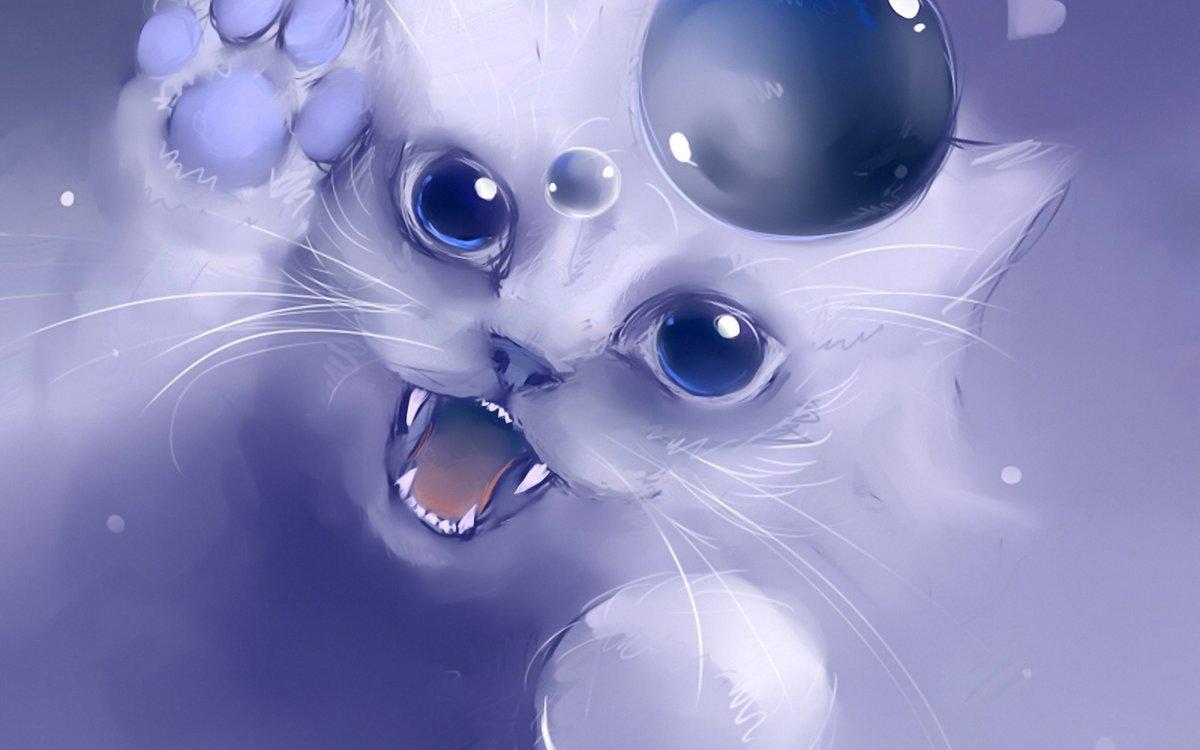поздравленья картинки аватарки белый кот ней был целиком