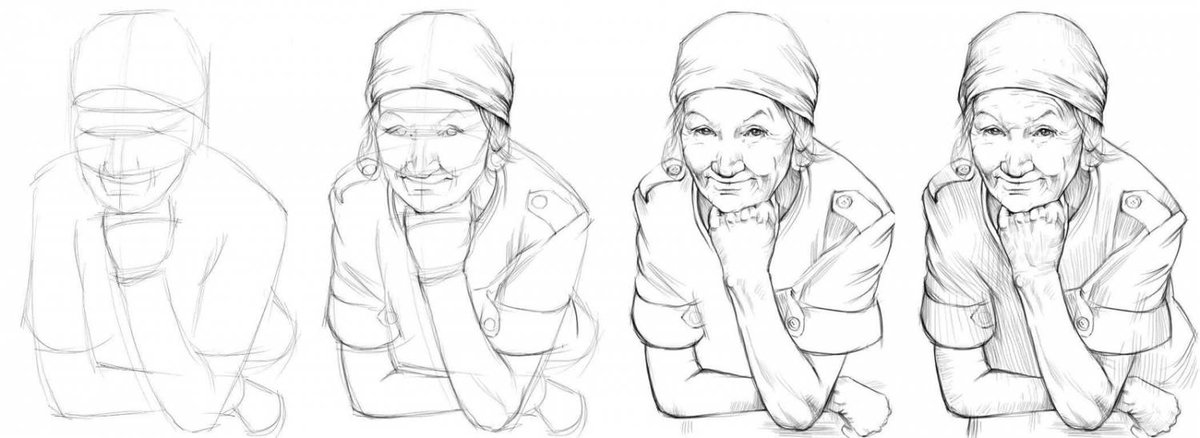 Легкая открытка для бабушки рисовать, памперса