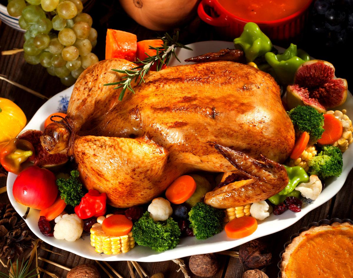 Фото картинка зажаренной курицы