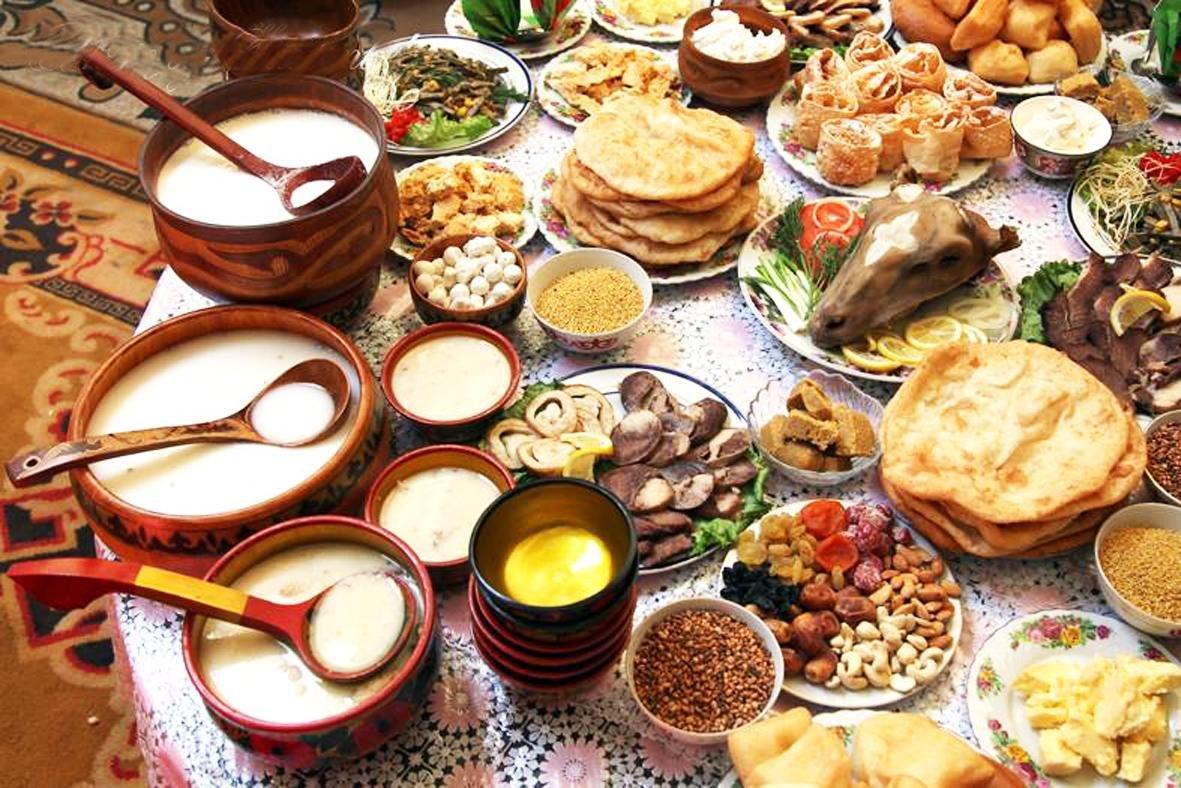 традиционная еда казахов