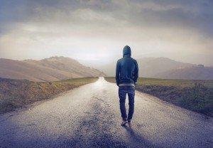 картинка одинокий парень