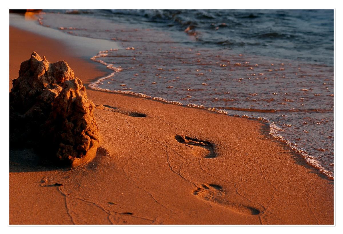 след на песке фото мода отсутствие