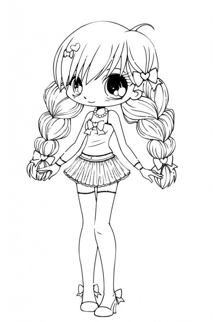 Cute Chibi Coloring Pages In This Posting Relates To The Request Report About