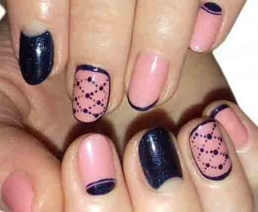 закругленные ногти дизайн фото