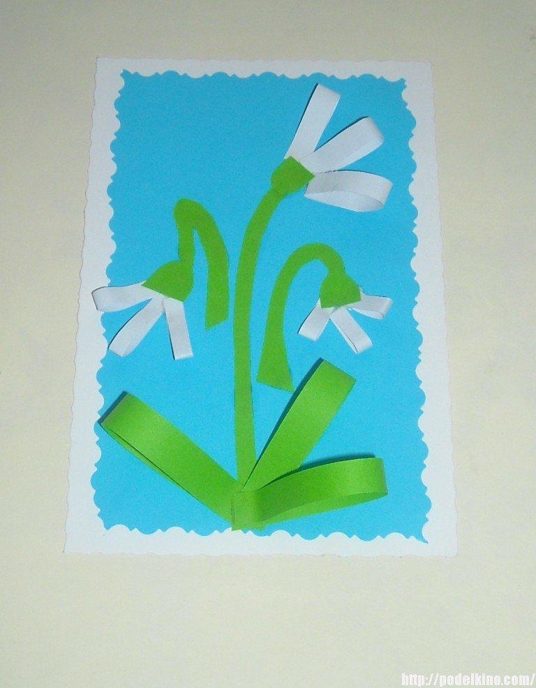 4 класс открытки к 8 марта своими руками
