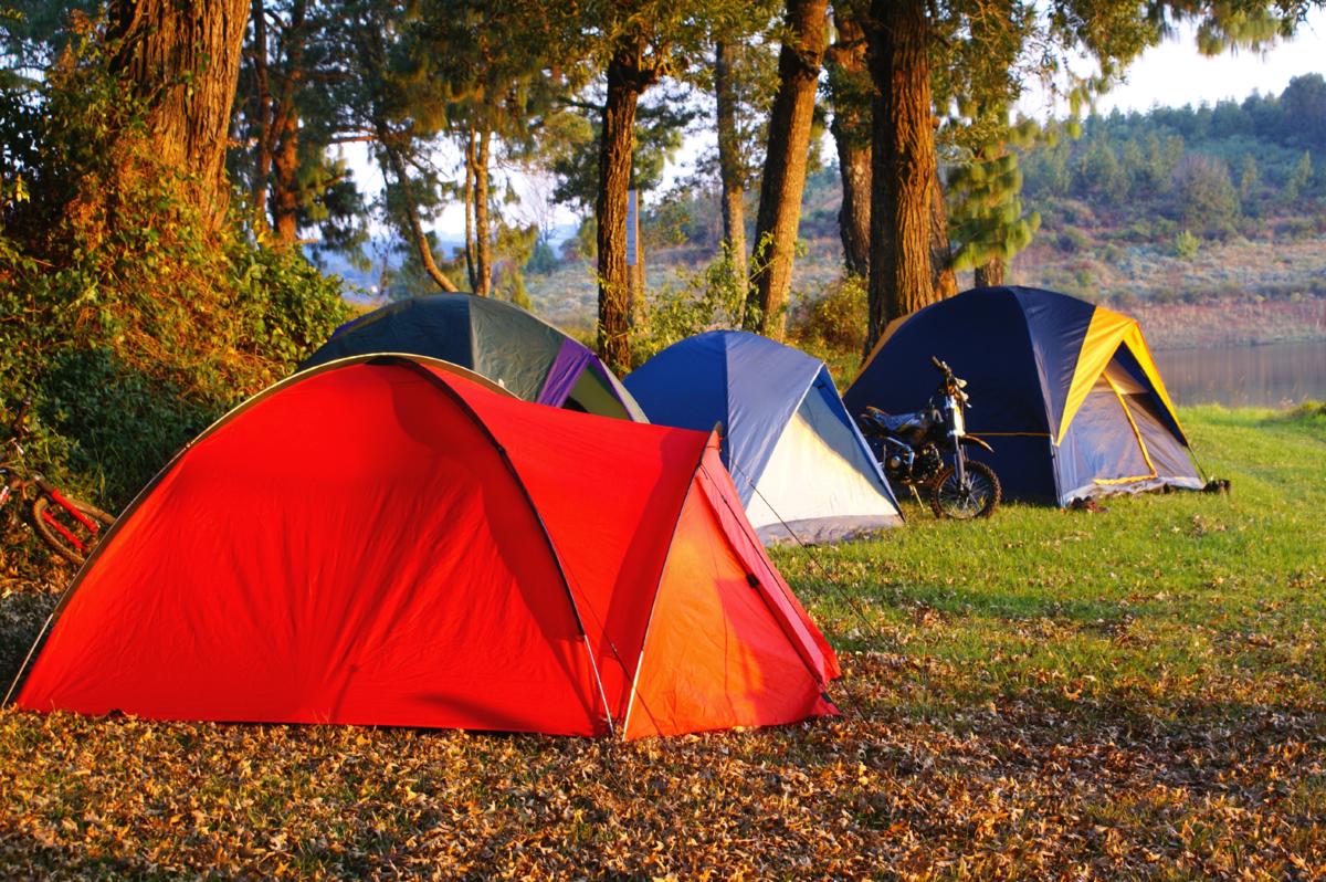 Картинки отдых на природе с палатками