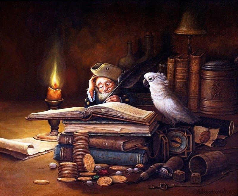 датчик домовой красивые картинки из больших книг старину, когда