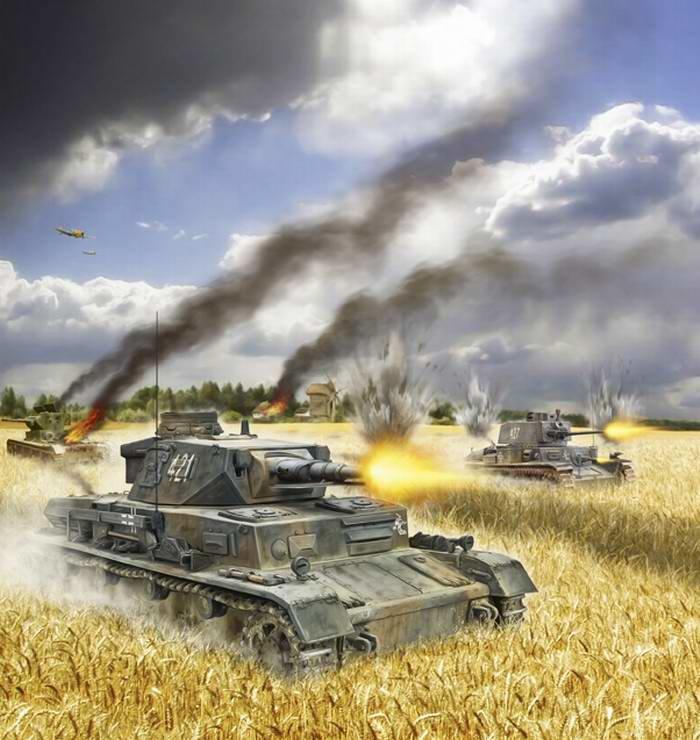 Картинки танковые сражения