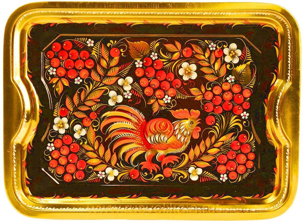также хохломская роспись верховая картинки скориков