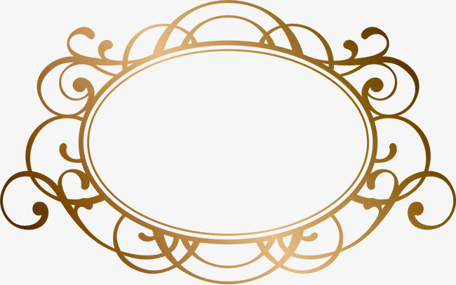 Lovely ancient circular frame material, Ancient Frame Material, Png ...