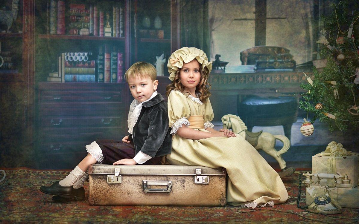 Сюжетные фотографии детей