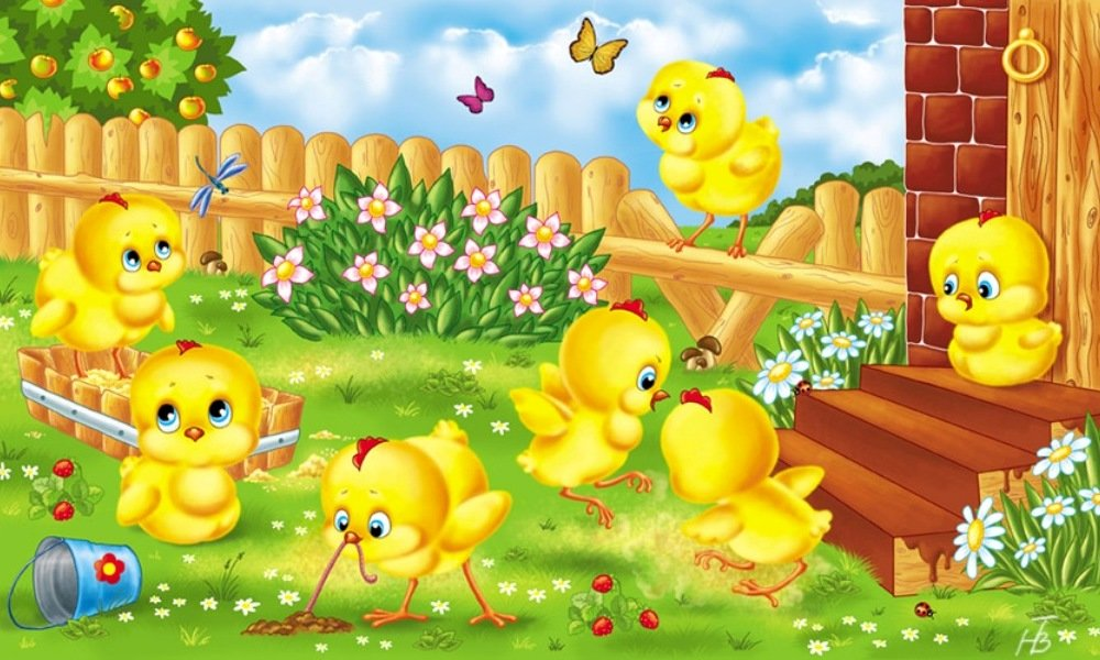 картинки с цыплятами для малышей наряду правильно подобрать
