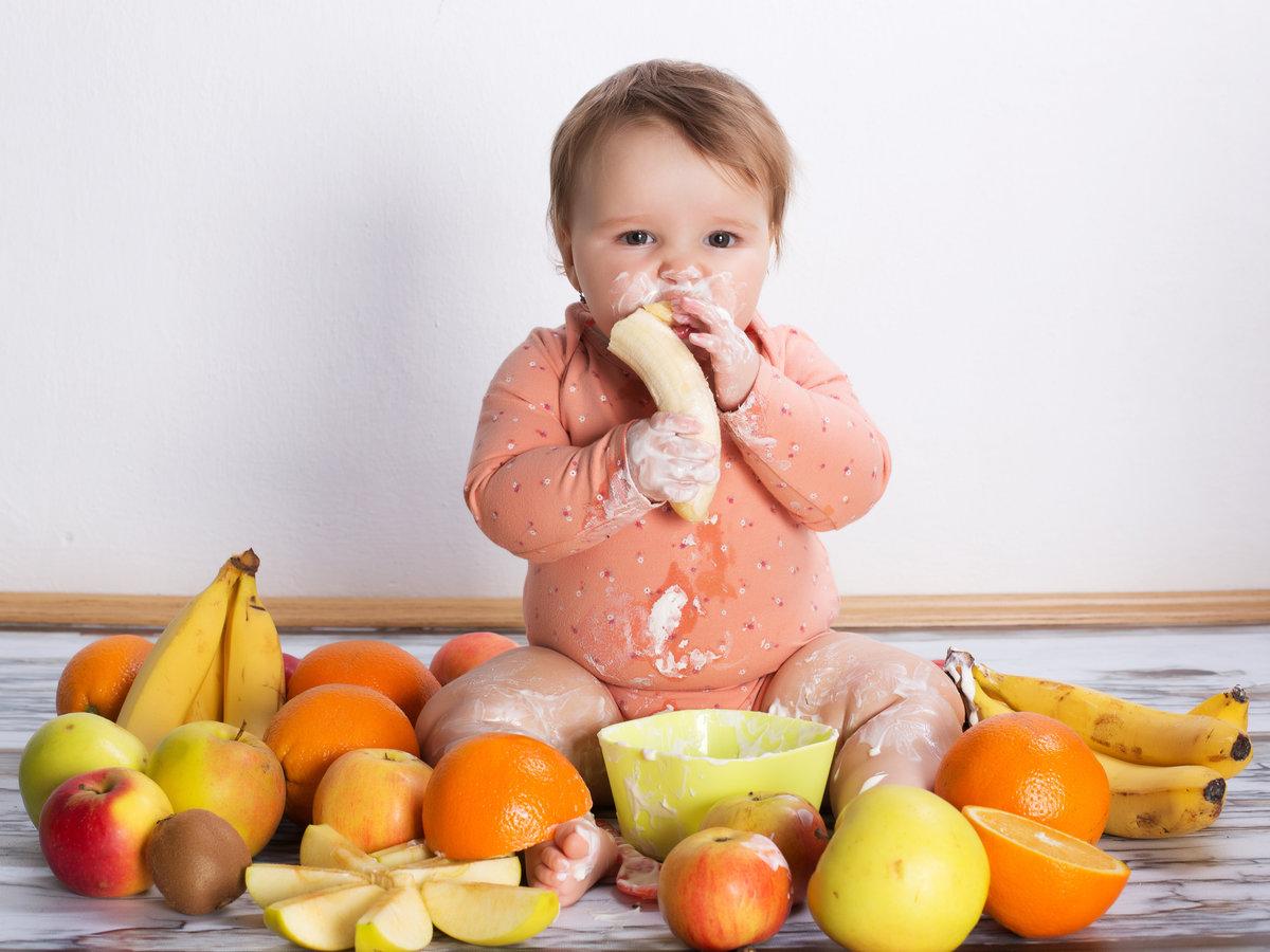 Фото дети с фруктами