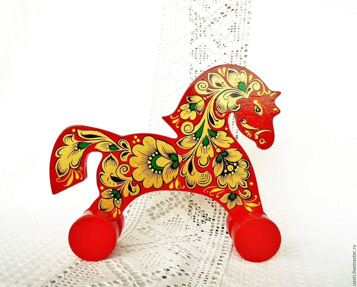 Картинка хохломская игрушки