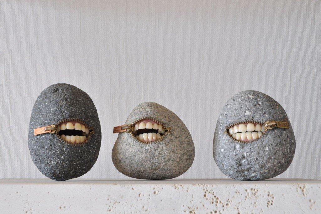 картинки лица из камней рождественская