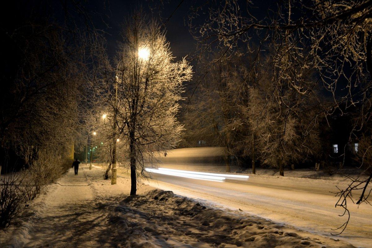 Фото обои авто в снегу
