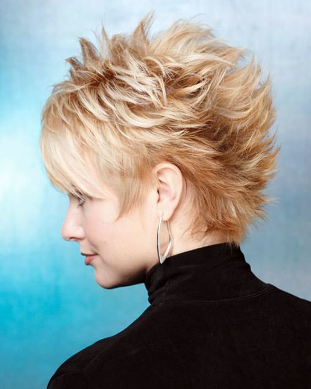 The hottest 27 different colors short spiky haircuts & hairstyles ...
