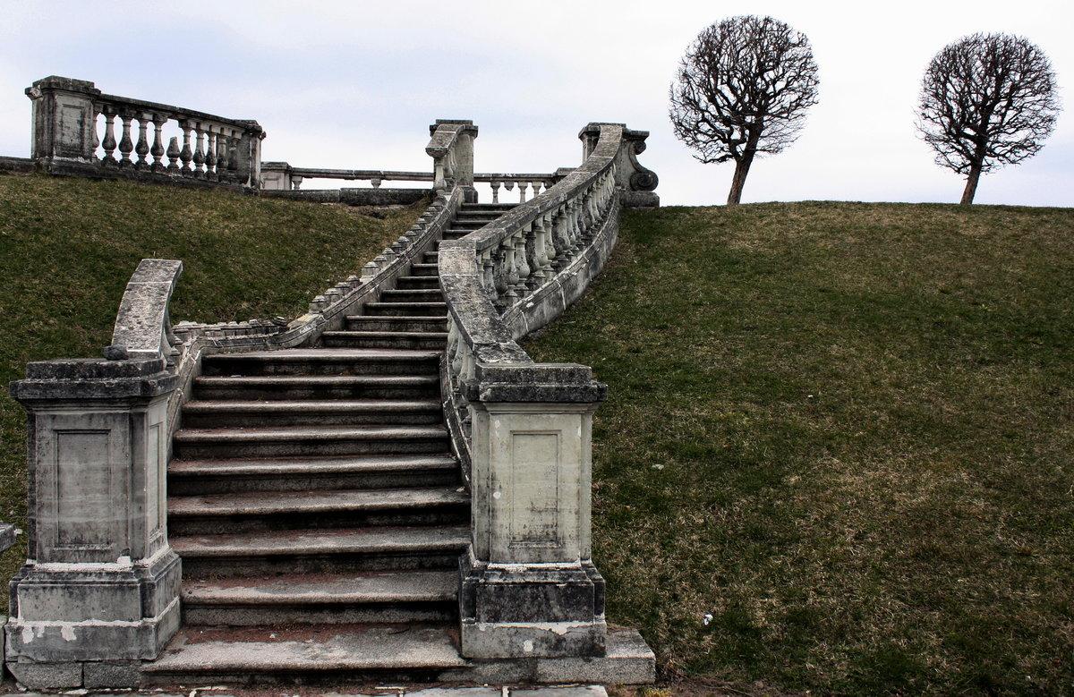 старинные лестницы картинки участок