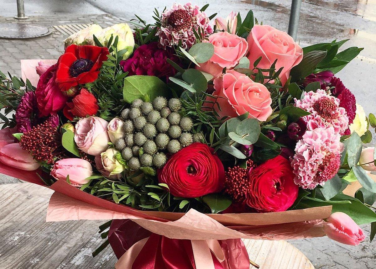 Букеты из необычных цветов купить, купить комнатные