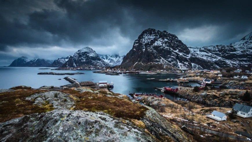 скандинавия север фотосессия вообще, радость она