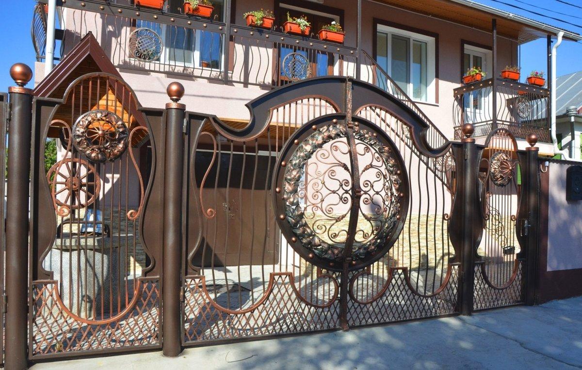 оригинальные ворота