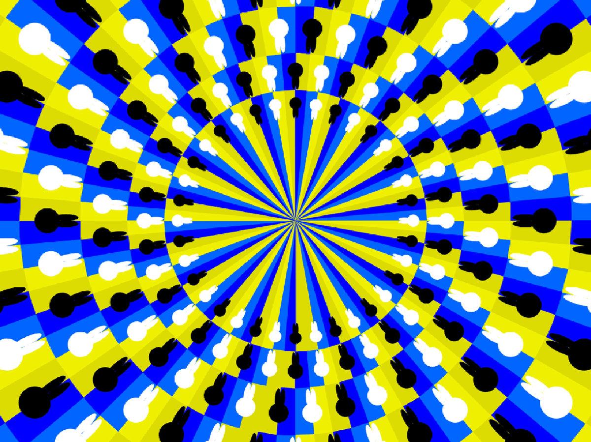 Оптическая иллюзия глаза картинки