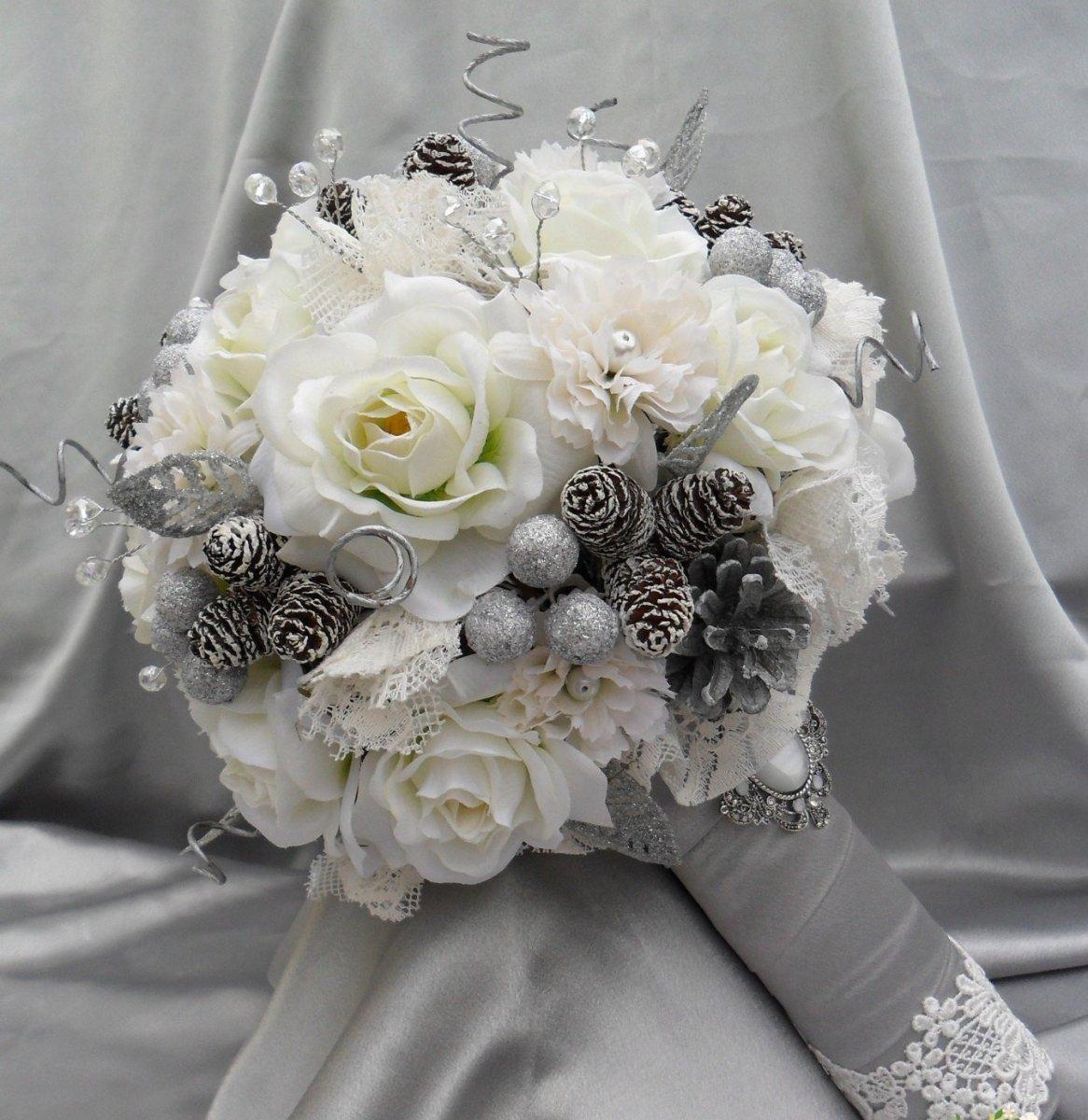 Купить легко, букет для невесты зима