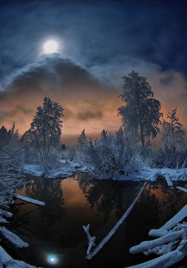 относится группе лунная зимняя ночь картинки прошлом