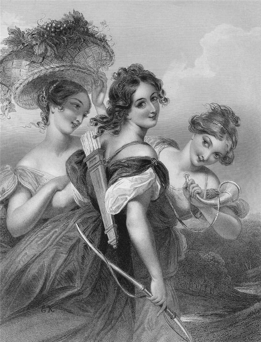 черно-белые картинки для декупажа с дамами самые интересные